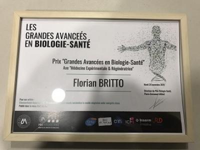 prix des « Grandes Avancées en Biologie Santé »