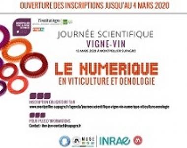 12è Journée scientifique Vigne et Vin